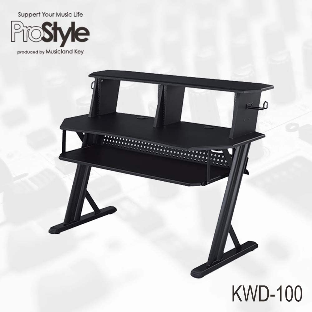 ProStyle KWD-100BK (Home Recording Table) DTM専用デスク