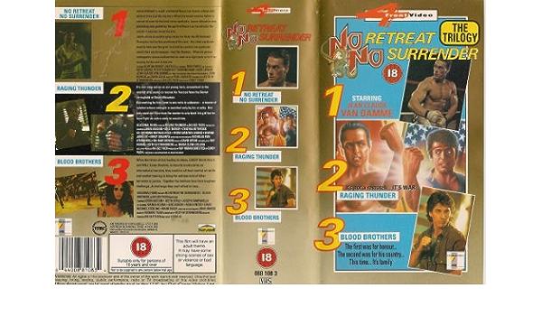 No Retreat, No Surrender [Reino Unido] [VHS]: Amazon.es: Kurt ...