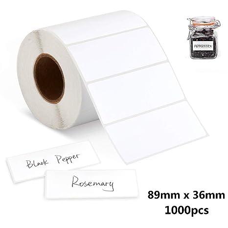 Etiquetas Adhesivas Pegatinas Rollo de 1000 piezas- Etiquetas ...