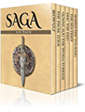 Saga Six Pack - Beowulf, The Prose Edda, Gunnlaug The Worm-Tongue, Eric The Red, The Sea Fight and Sigurd The Volsung (Illustrated)