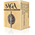 Saga Six Pack - Beowulf, The Prose Edda, Gunnlaug The Worm-Tongue, Eric The Red, The Sea Fight and Sigurd The Volsung (Illustrated) (English Edition)