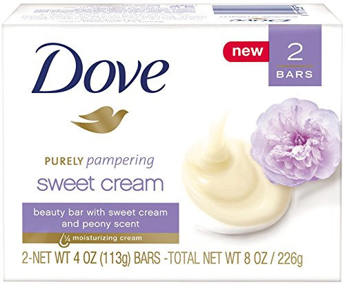 Dove Purely Pampering Beauty Bar Sweet Cream And Peony 4 Ounce, 2