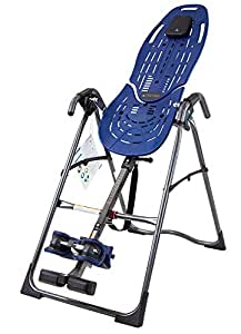 Teeter EP-560 Inversion Table for back pain relief, 3rd-Party Safety Certified, Precision Engineering