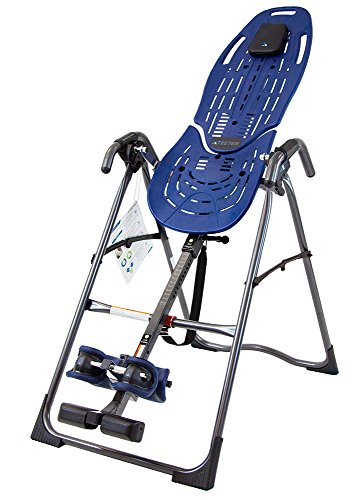 Teeter EP-560 FDA-Cleared Inversion Table for back pain relief, 3rd-Party Safety Certified, Precision Engineering