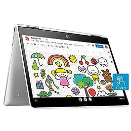 HP Chromebook x360 Intel Celeron N4020 Processor 12-inch (30.48 cms) Touchscreen Laptop (4GB/64GB eMMC Storage/Chrome OS…