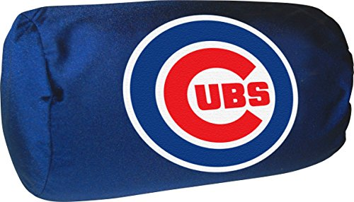 Officially Licensed MLB Chicago Cubs Bolster Pillow