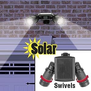 PPR Direct Marketing 10110 Solar Powered Twin Spot Security Light Statue