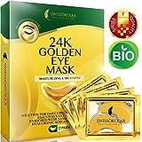 Under Eye Mask Gold Eye Mask Anti-Aging Hyaluronic Acid 24k Gold Eye Patches