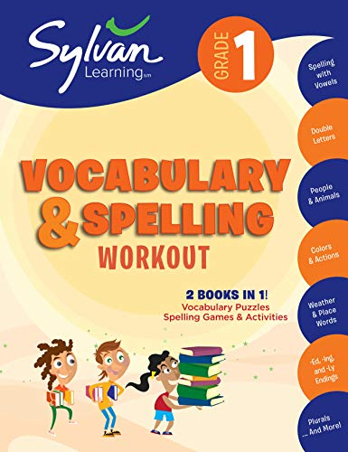 - 1st Grade Vocabulary & Spelling Workout (Sylvan Beginner Workbook)