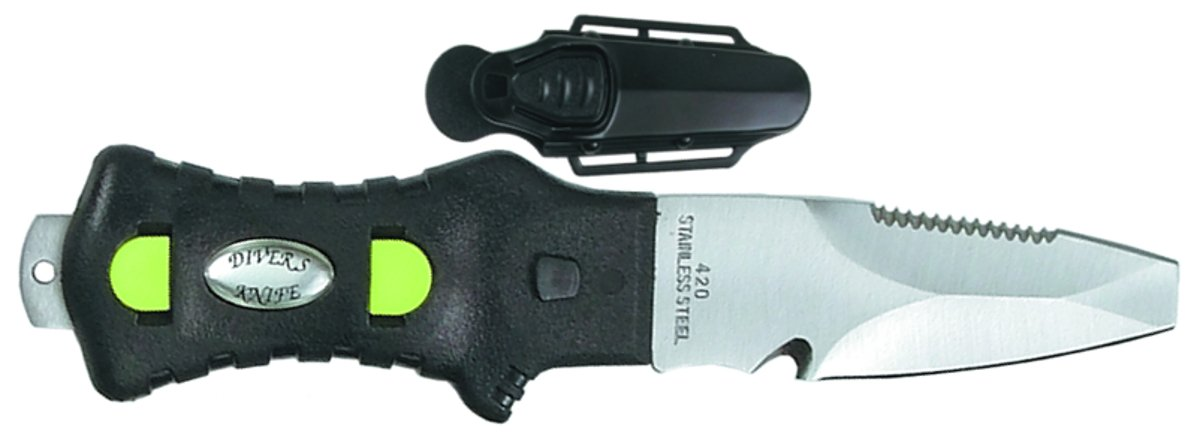 3'''' KNIFE BLUNT BLACK/KN-168P