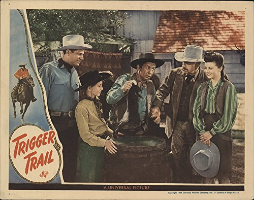 Trigger Trail 1944 Authentic 11