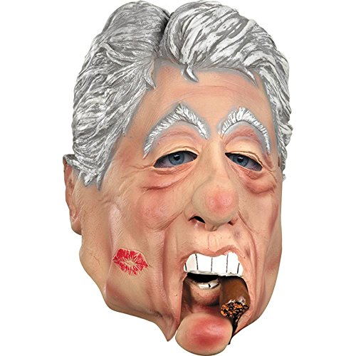 Adult's Moveable Jaw Bill Clinton Costume -