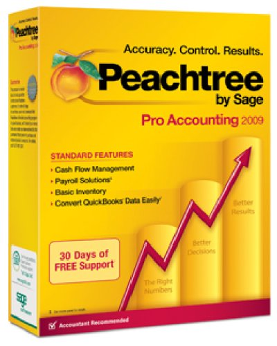 Peachtree by Sage Professional Accounting 2009 (Accounting Software compare prices)