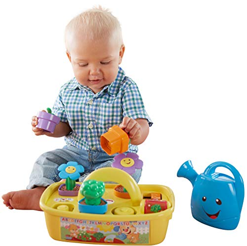 516HL%2BglA L - Fisher-Price Laugh & Learn Smart Stages Grow 'n Learn Garden Caddy (Amazon Exclusive)