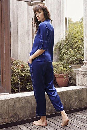 Story Pijama Azul Mujer Para Shanghai RpF16p