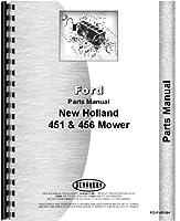Holland 456 Sickle Bar Mower Parts Manu...