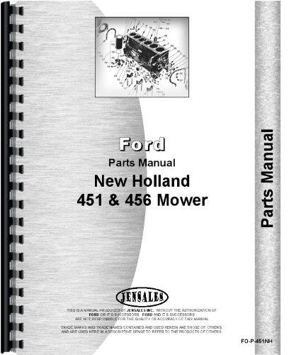 New Holland Sickle Bar Mower Parts Manual (FO-P-451NH) pdf