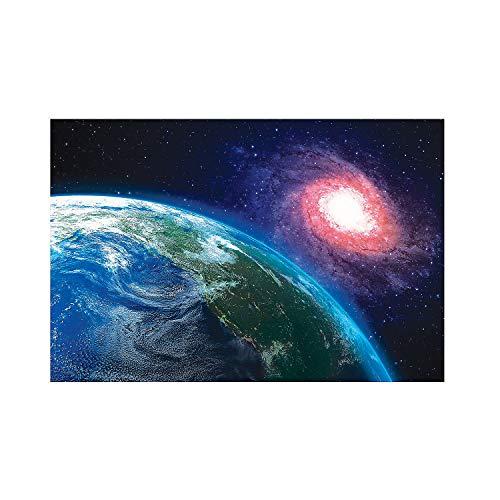 Fun Express - God's Galaxy Vbs Earth Backdrop Banner - Party Decor - Wall Decor - Preprinted Backdrops - 3 Pieces]()