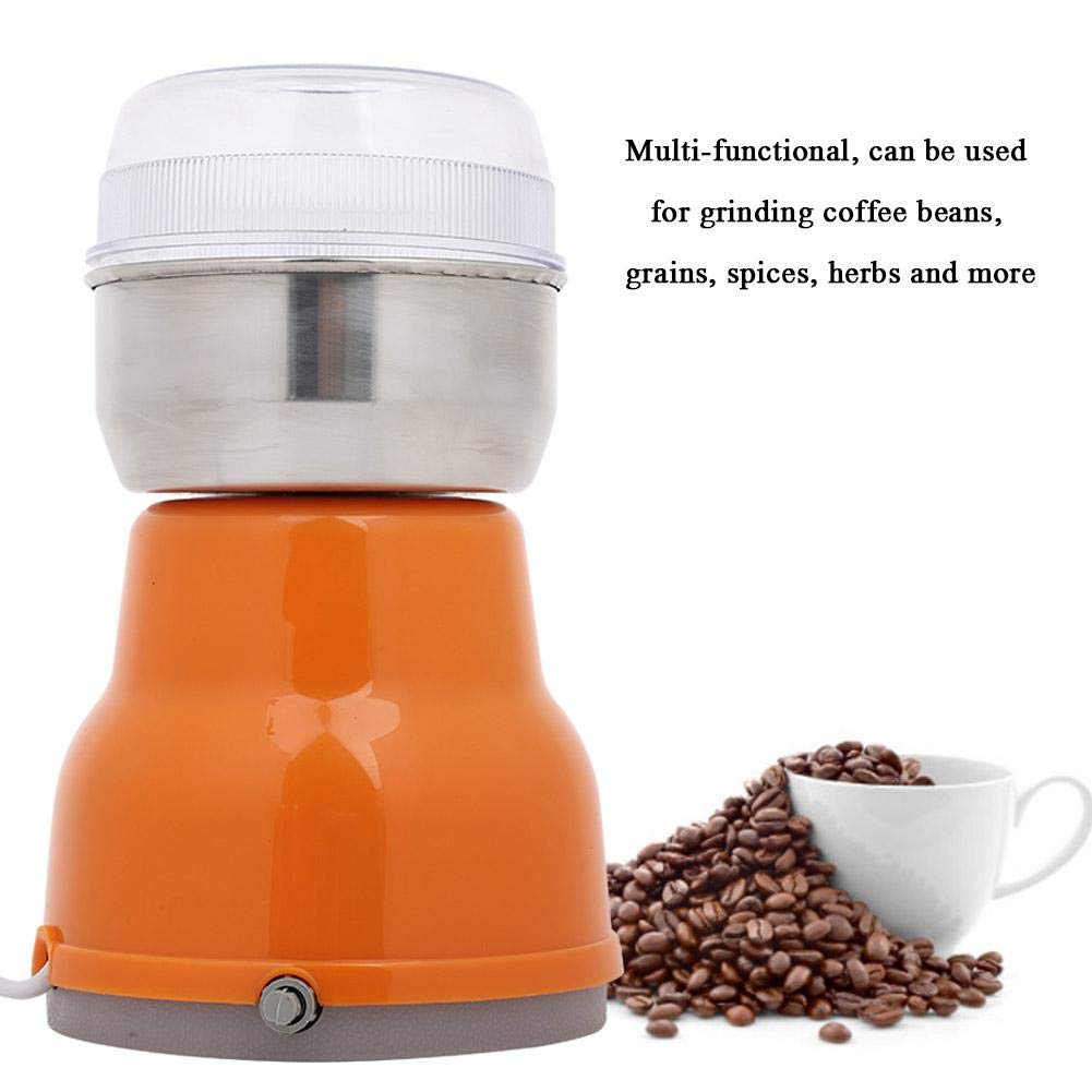 FTVOGUE Mini Electric Coffee Bean Grinder Grains Beans Herbs Spezie Mill Grinding Tool