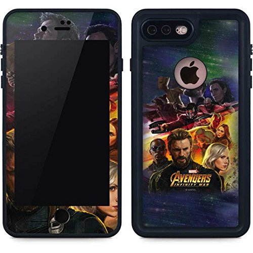 Avengers Iphone 8 Plus Case   Avengers Infinity War Series 1   Marvel   Skinit Waterproof Case