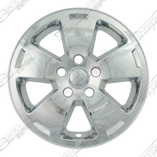 16 chrome hubcaps impala - 8