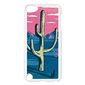 catus plants watorcolor abstract Ipod Touch 5 Case White
