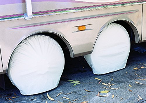 ADCO 3949 White Ultra Tyre Gard Wheel Cover by ADCO (Image #3)