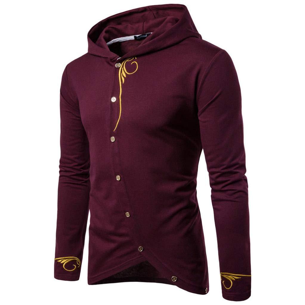 Sharemen Men's Long Sleeve Sweatshirt Sport Tops Pullover