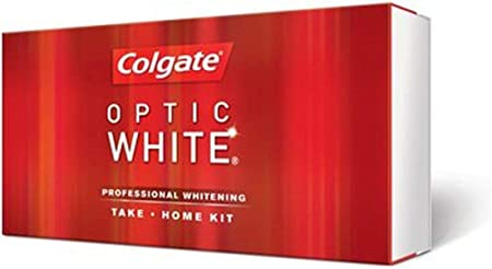 Colgate Optic White Gel Professional Whitening Take-home Kit 9