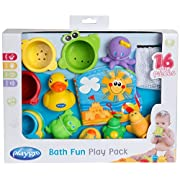 Playgro 0182933 Bath Fun Toy Gift Pack, 0-24 Months for Baby