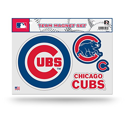 Rico MLB Chicago Cubs Team Magnet Set