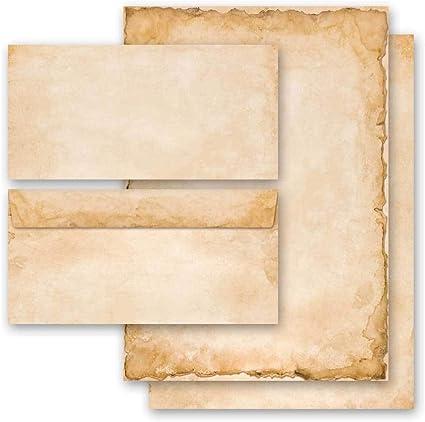 con finestra IT Natale Ordine Online 50 fogli di carta da lettera e 50 buste DIN LANG Set di cancelleria BUONE FESTE | Paper-Media