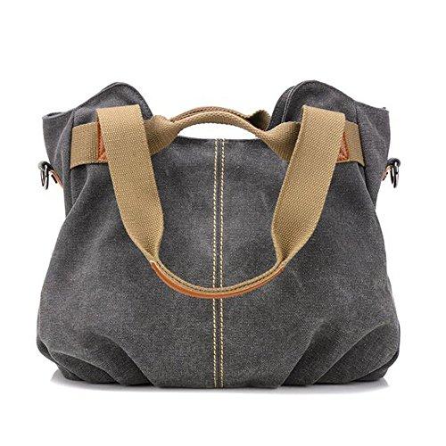 Borsa Borsa A Tracolla Di A Borsa Fashion Fashion Fashion Tracolla Bag Gray A Tela Femminile Tracolla Rq7rwR