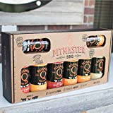 The Pit Master - Gift Basket is the best of the Backyard Grill BBQ Gift Basket - Spices & Sauce 12 - pcs set. What you get in this gift box:
