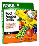 Ross Fruit & Nut Tree Fertilizer Refills for Ross Root Feeder, 9-46-15 (Ideal for Watering During Droughts) High Yield Fruit Formula, 12 Refills