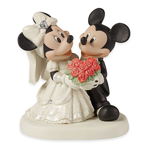 Precious Moments Mickey And Minnie You Are My Fairy Tale Porcelain Figure