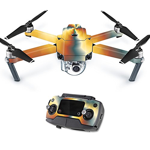 MightySkins Skin for DJI Mavic Pro Quadcopter Drone - Eye of The Storm | Protective, Durable, and Unique Vinyl Decal wrap Cover | Easy to Apply, Remove, and Change Styles | Made in The USA
