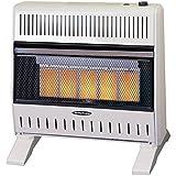 Sure Heat IRH26NLTD Dual Fuel Has 5 Ceramic Plaque IR Wall or Floor Mount Heater, 26K BTU, Beige/Tan