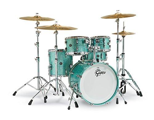 Gretsch Renown 5 Piece Drum Set (20/10/12/14/5.5x14SN) Turquoise ()