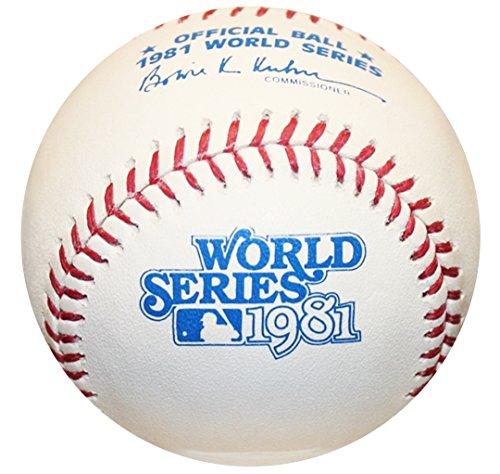 1981 World Series - Rawlings 1981 World Series Official MLB Game Baseball - Los Angeles Dodgers