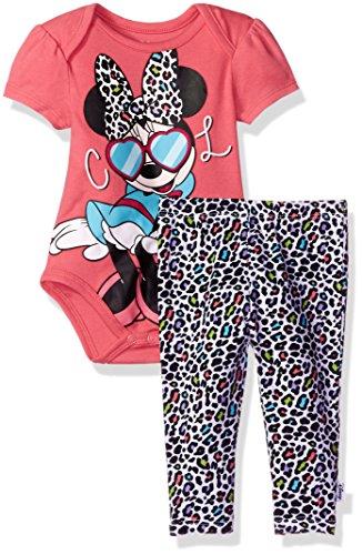 Disney Girls Minnie 2 Piece Bodysuit