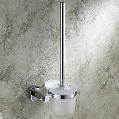 lana Chrome Finish Bathroom Accessorie Brass Toilet Brush Holder