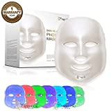 Project E Beauty LED Photon Therapy 7 Color Skin Rejuvenation Treatment Skin Care Beauty Facial Mask