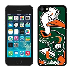 Iphone 5c Case Ncaa ACC Atlantic Coast Conference Miami (Fl) Hurricanes 7 Apple Iphone Case