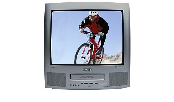 Philips 21 PV 340/01 4: 3 televisor con Mono de vídeo VHS Granito: Amazon.es: Electrónica