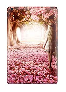 Ipad Mini/mini 2 Case Cover Skin : Premium High Quality Flower Path Case