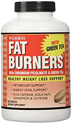 Weider Thermogenic Fat Burners 300 Ct