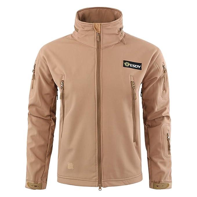 Outdoor Coat Hooded Jacket Sports Chaqueta De Invierno para Hombre, Naturazy Chaqueta para Lluvia Outdoor Casual Abrigo Chaqueta De Lana ChaquetóN CláSica ...