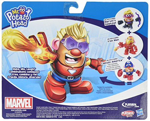 Potato Head MPH Marvel Mashup Hawkeye & Iron Man Toy - http://coolthings.us