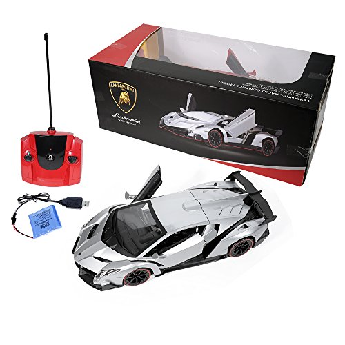 Amazon Com Rw Radio Remote Control Lamborghini Veneno Rc Car 1 14